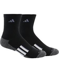 adidas Men's 2-Pk. ClimaLite® Mid-Crew Socks