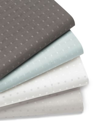 Woven Dot 4 piece King Sheet Set, 400 Thread Count Combed Cotton Blend