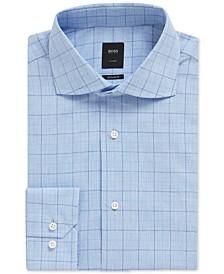 BOSS Men's Regular/Classic Fit Checked Shirt