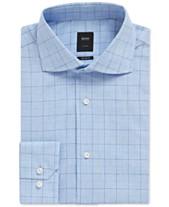 de4789ac BOSS Men's Regular/Classic Fit Checked Shirt