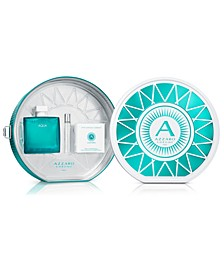 Men's 3-Pc. Chrome Aqua Gift Set