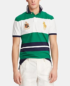 Polo Ralph Lauren Men's Custom Slim Fit Novelty Big Pony Polo