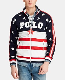 Polo Ralph Lauren Men's Americana Track Jacket, Created for Macy's