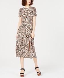 T.D.C. Topson Lala Printed Midi Dress