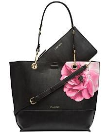 Calvin Klein Sonoma Floral Tote