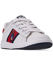 Polo Ralph Lauren Toddler Boys' Quilton Bear Casual Sneakers from Finish Line