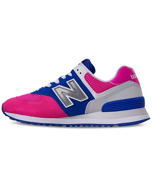 finest selection 399d4 b9af4 New Balance Women's 574 Casual Sneakers from Finish Line ...