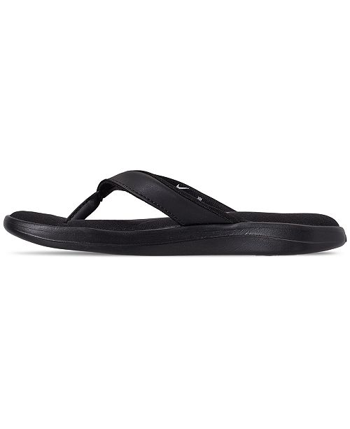 0a5ffdb2e89b6f ... Nike Women s Ultra Comfort 3 Thong Flip Flop Sandals from Finish Line  ...