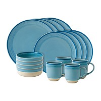 Royal Doulton Brushed Glaze 16 Pc Dinnerware Set