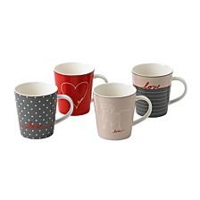 Crafted by Royal Doulton Signature Mug, Set of 4
