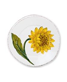 Vietri Lastra Sunflower Salad Plate