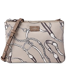 Lauren Ralph Lauren Chadwick Double Zip Crossbody