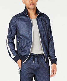 Sean John Men's Tri Print Track Jacket