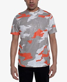 Sean John Men's Camouflage Logo Graphic T-Shirt