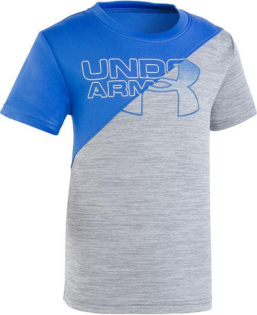 f1b408f389 Under Armour Toddler Boys Split Logo Graphic T-Shirt & Reviews ...