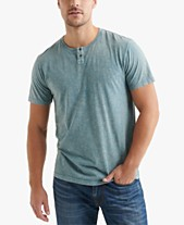 5249ef2bc3c57 Lucky Brand Men s Sugar Magic Snap Heather Henley