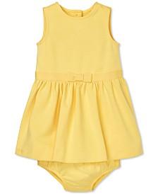 Polo Ralph Lauren Baby Girls Ponté-Knit Dress