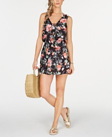 Becca French Valley Printed Swim Cover-Up