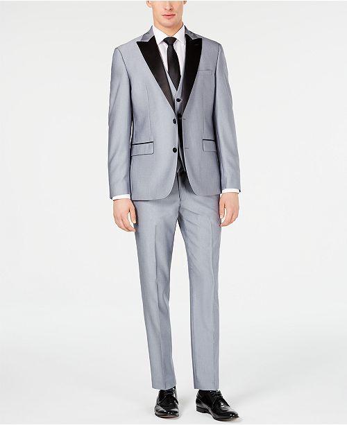 Ryan Seacrest Distinction Men's Slim-Fit Stretch Tuxedo Suit Separates, Created for Macy's