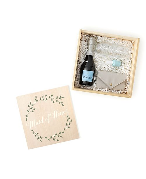 Cathy's Concepts Floral Maid of Honor Gift Box Set