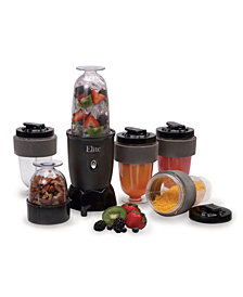 Elite Cuisine 17 Piece Personal Drink Blender with 4 x 16 Ounce Travel Cups