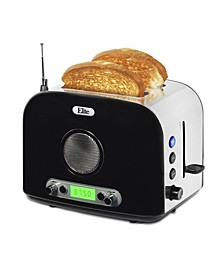 Elite Platinum 2 Slice Radio Toaster