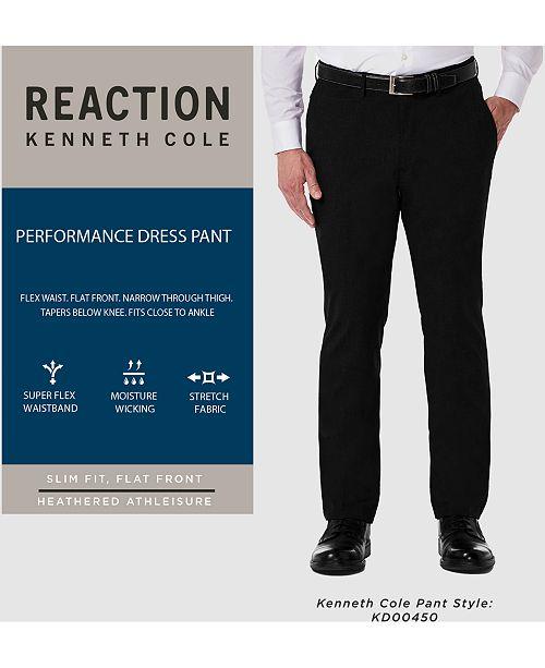 18c5b4c55bcc ... Kenneth Cole Reaction Men s Stretch Athleisure Slim-Fit Dress Pants ...