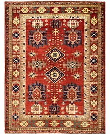 "BB Rugs Pak Tribal 598188 Rust 5'10"" x 7'10"" Area Rug"