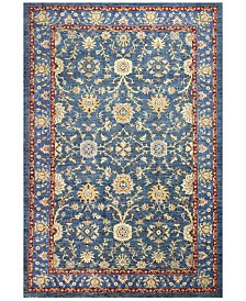 "BB Rugs Mansehra 620565 Blue 6'6"" x 9'8"" Area Rug"