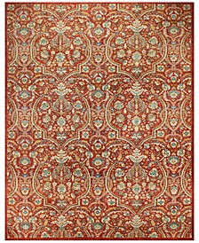 """Mansehra 620533 Red 9' x 11'11"""" Area Rug"""