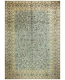 "BB Rugs Kashan 625430 Light Green 9'10"" x 13'7"" Area Rug"