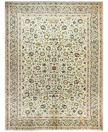 "BB Rugs Kashan 615180 Light Green 9'11"" x 13'3"" Area Rug"