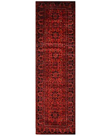 "Fine Beshir 621223 Red 2'9"" x 9'6"" Runner Area Rug"