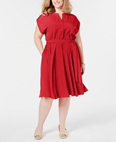 7177a68389e84 Plus Size Dresses - Macy's