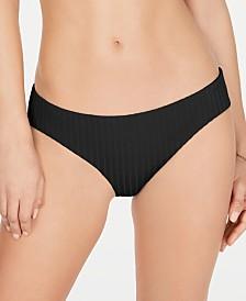 Becca Loreto Ribbed Hipster Bikini Bottoms