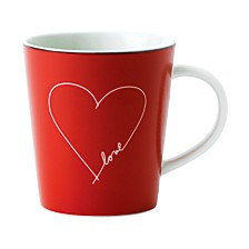 Crafted by Royal Doulton Signature White Heart Mug