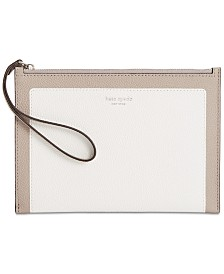 kate spade new york Margaux Pebble Leather Wristlet