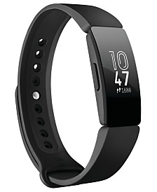 Fitbit  Inspire Black Strap Activity Tracker  19.5mm