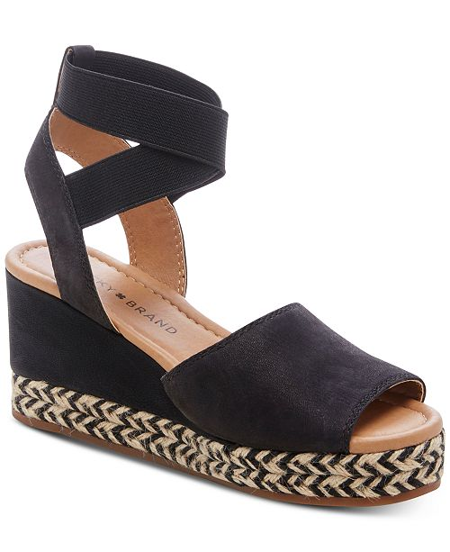 7eafffd5107 Lucky Brand Women s Bettanie Wedge Sandals   Reviews - Sandals ...