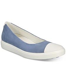 Ecco Women's Soft 7 Ballerina Flats