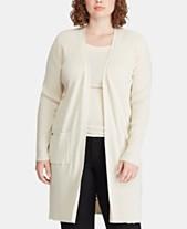 6b269809157 Lauren Ralph Lauren Womens Plus Size Sweaters - Macy s