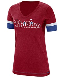 Women's Philadelphia Phillies Tri-Blend Fan T-Shirt