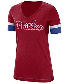 Nike Women's Philadelphia Phillies Tri-Blend Fan T-Shirt