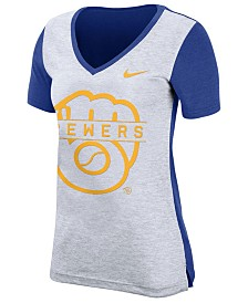 Nike Women's Milwaukee Brewers Dri-FIT Touch T-Shirt