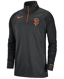Nike Men's San Francisco Giants Dry Game Elite Quarter-Zip Pullover