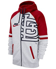 Nike Men's St. Louis Cardinals Walkoff Full-Zip Hoodie