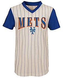 Big Boys New York Mets Cooperstown Heavy Hitter T-Shirt