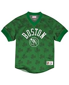 Men's Boston Celtics Kicking It Wordmark Mesh T-Shirt