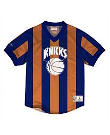 Men's New York Knicks Kicking It Wordmark Mesh T-Shirt
