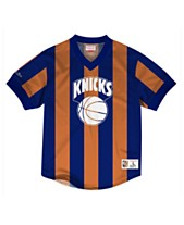 9a390921cc4 Mitchell   Ness Men s New York Knicks Kicking It Wordmark Mesh T-Shirt